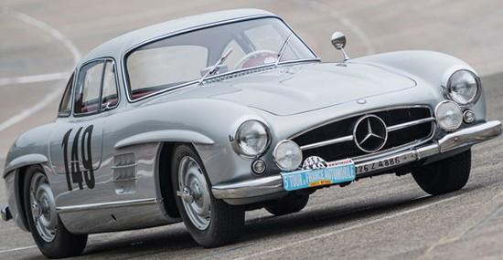 1955 Mercedes-Benz 300 SL 'Sportabteilung' Gullwing At RM Sotheby's Auction