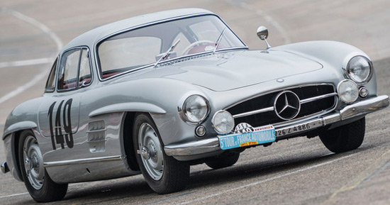 1955 Mercedes-Benz 300 SL 'Sportabteilung' Gullwing At RM Sotheby's Auction