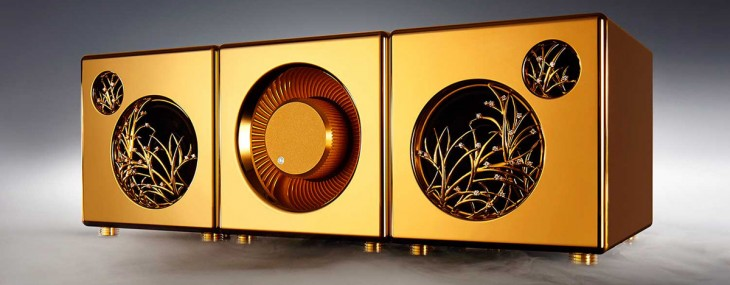 River'sTone – Premium Speaker System In Silver Or Gold