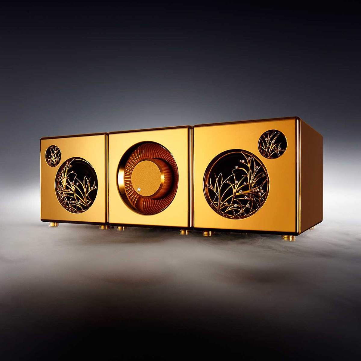 River'sTone - Premium Speaker System In Silver Or Gold