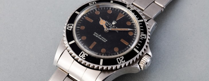 Roger Moore Bond Rolex Goes Under The Hammer