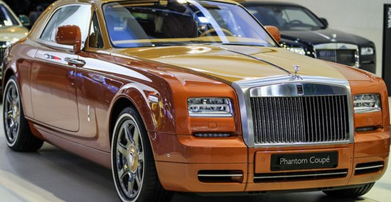 Rolls-Royce Phantom Coupe Tiger And Ghost Golf Special Editions