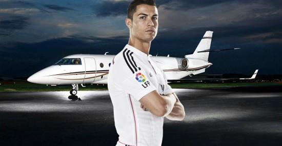 Ronaldo Splashed Out €19 Million On Jet