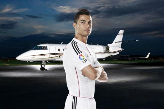 Ronaldo's Gulfstream G200
