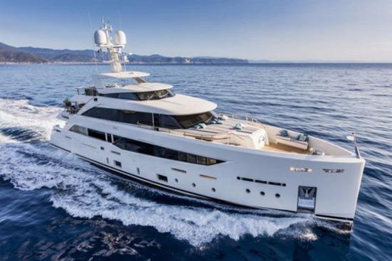 Serenity - Mondomarine SF40 Superyacht