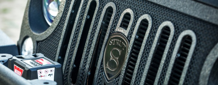 STRUT Introduces Grille Collection For Jeep Wrangler