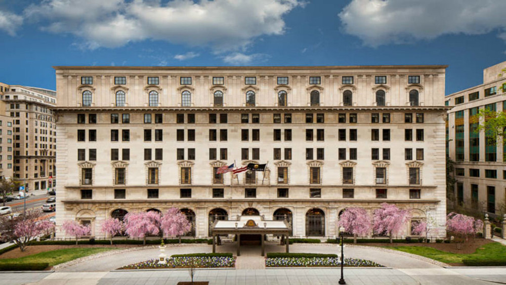 The St. Regis Washington, D.C. & Sylvia Weinstock