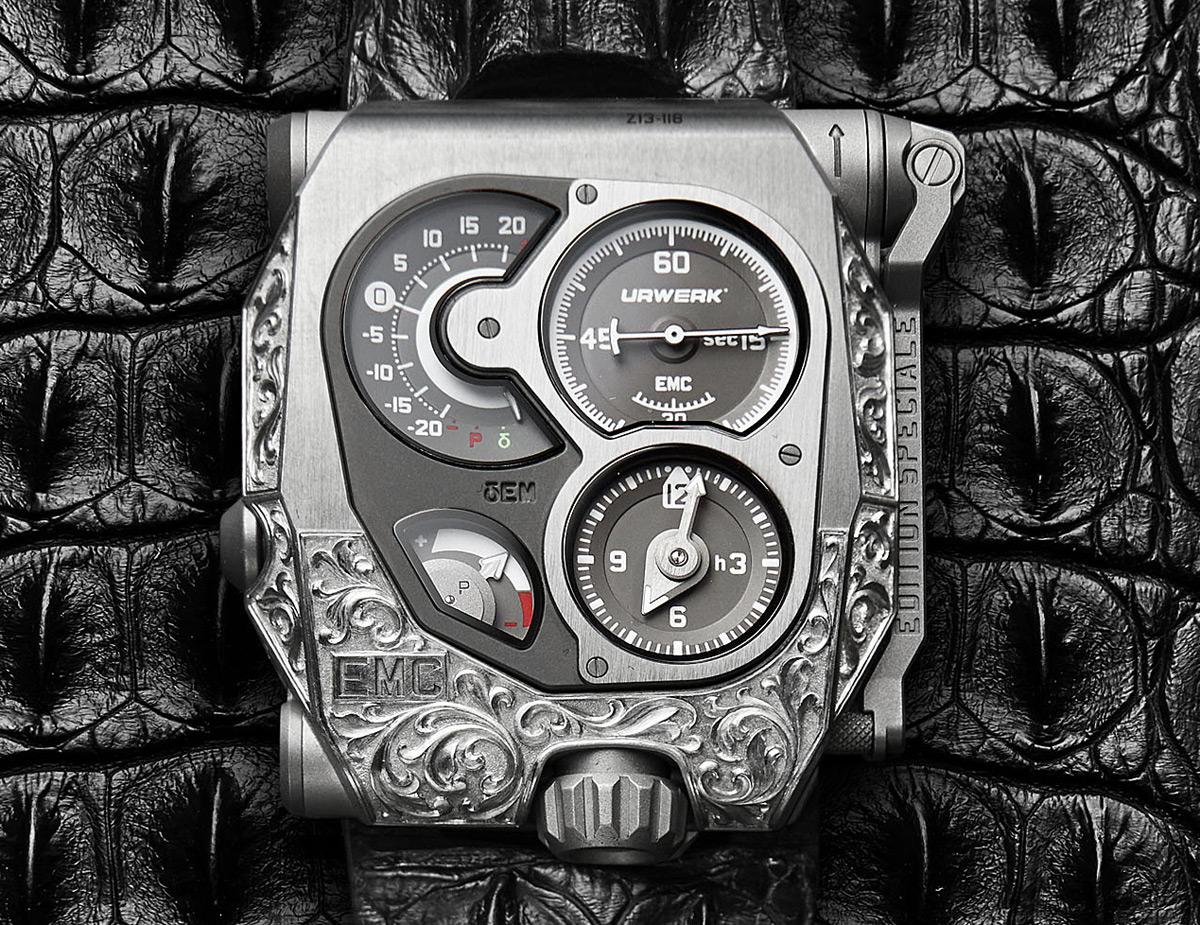 Urwerk's EMC Pistol - Ultra Limited-Edition Timepiece