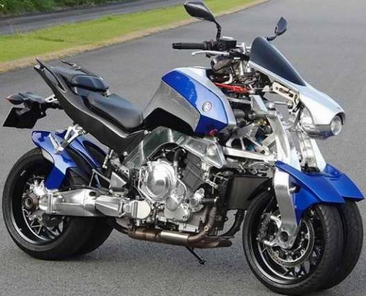 Yamaha Or2t Motorcycle On Four Wheels Extravaganzi