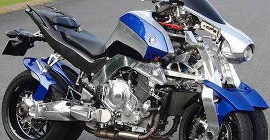 Yamaha OR2T – Motorcycle On Four Wheels