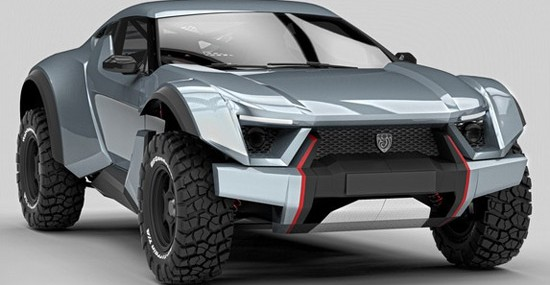 $100,000 Worth Sand Racer From Zarooq Motors