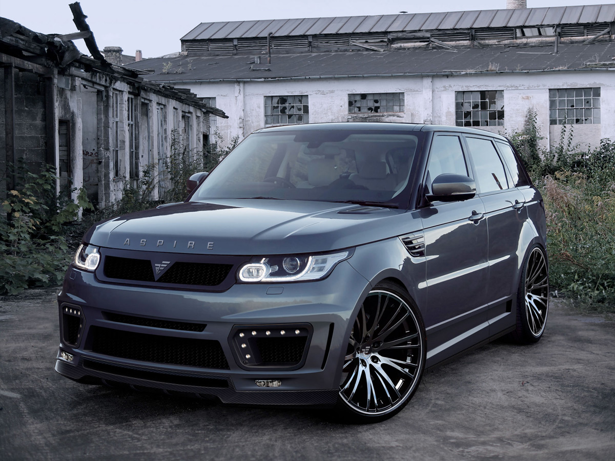 aspire design styling for range rover suv extravaganzi. Black Bedroom Furniture Sets. Home Design Ideas