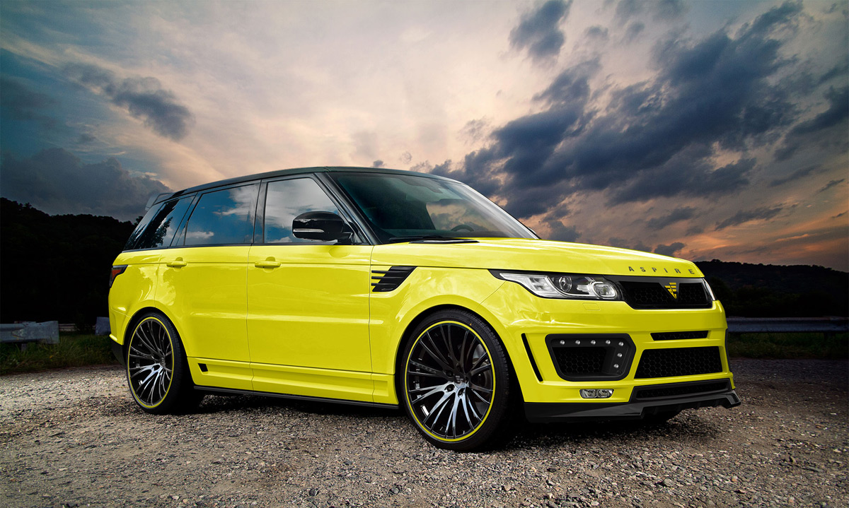 Aspire Design Styling For Range Rover SUV