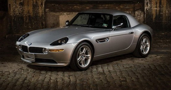 "BMW Z8 From The Film ""The World Is Not Enough"""