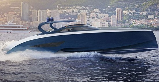 Bugatti Enters the Waters with New Yacht