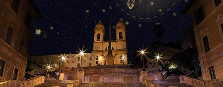 Bulgari's Roman Treasures Website
