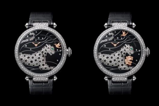 Cartier Panthères et Colibri Watch