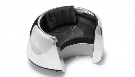 Luxury Chair Made Of DC-9 Jetliner's Engine Cowling