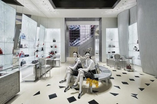 Dior 'China World' Boutique – Largest Store In Beijing
