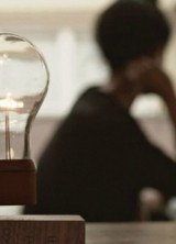 Flyte – Real Levitating Lamp by Simon Morris