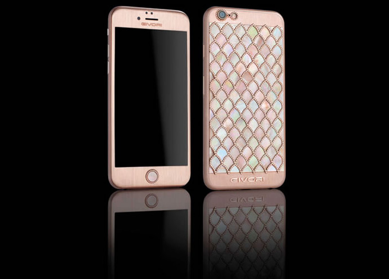 Givori's 'Calypso Diamond' iPhone 6s