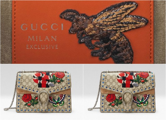 Special Edition of Gucci's Dionysus Handbags