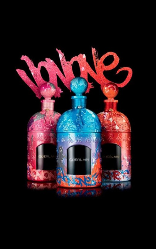 Guerlain Teamed Up With JonOne For Limited Edition Perfume Bottles