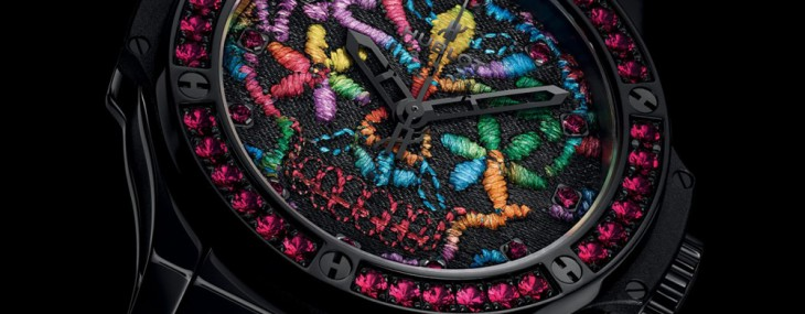 Hublot Big Bang 41MM Broderie Sugar Skull