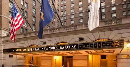 $180 Million Renovation Of  InterContinental New York Barclay Hotel