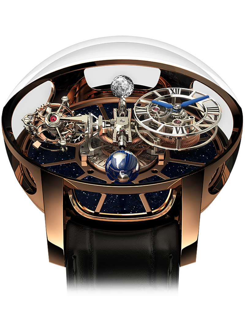 Jacob and co Astronomia Gravitational Triple Axis Tourbillon Timepiece