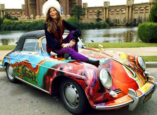 Janis Joplin's Psychedelic Porsche