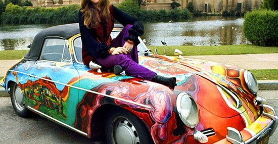 Janis Joplin's Psychedelic Porsche Sold for $1.8 Million