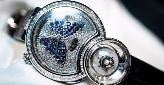 Jaquet Droz Lady 8 Flower Collection