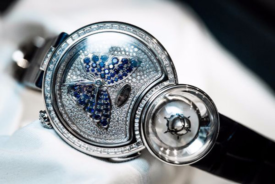 Jaquet Droz Lady 8 Flower Watch