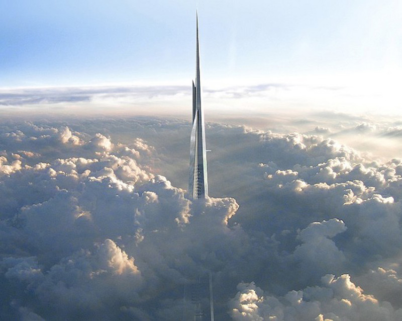 Jeddah Tower - World's Tallest Building in Saudi Arabia