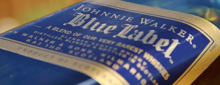 First Johnnie Walker Blue Label Smart Bottle Debuts In Thailand