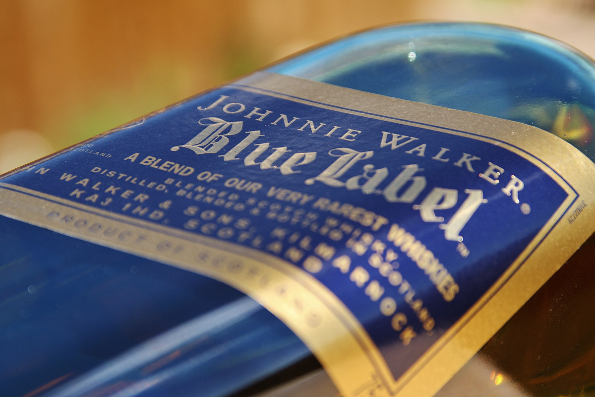 Johnnie Walker Blue Label Smart Bottle