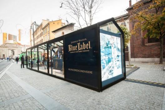 Johnnie Walker Blue Pop Up Store In Milan