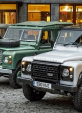 Two Millionth Land Rover Defender At Auction