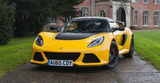 New 2016 Lotus Exige Sport 350