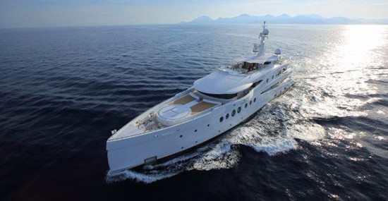 Revolutionary Illumination – Amels' Madame Kate Superyacht