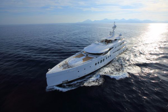 Amels' Madame Kate Superyacht