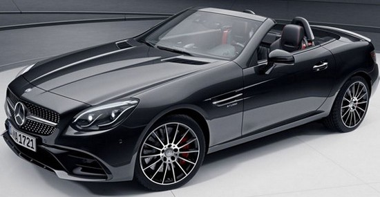 Mercedes SLC Night Package