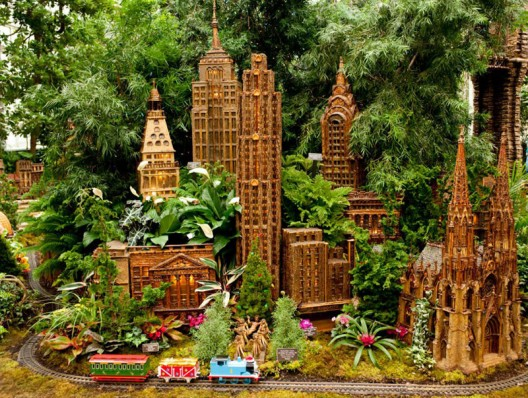 125th Anniversary Of The New York Botanical Garden Holiday Train Show