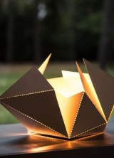 Folding Lamp Inspired By Origami