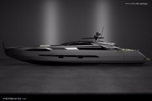 Pershing 140 Built In Light Alloy