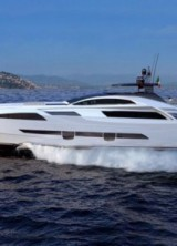 New Flagship Motor Yacht Pershing 140 Built In Light Alloy