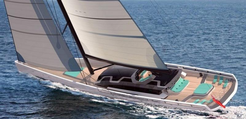 Project 441 Superyacht By Tony Castro Yachts