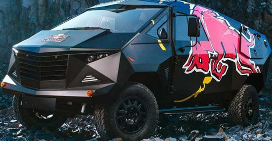 The Most Extreme Offroad Vehicle By Red Bull