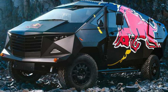Red Bull Vehicle